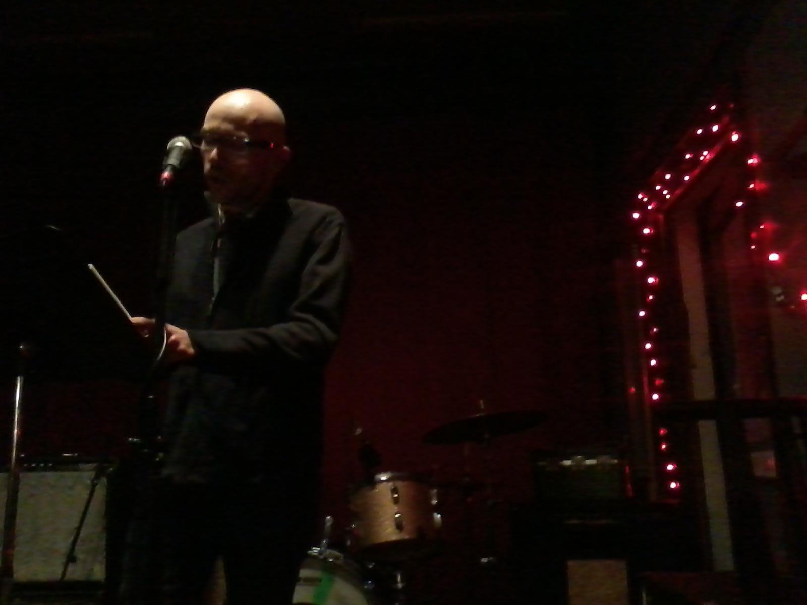 Nathan Hoks reading at Rozztox