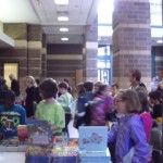 CLF 2013_students shopping for books