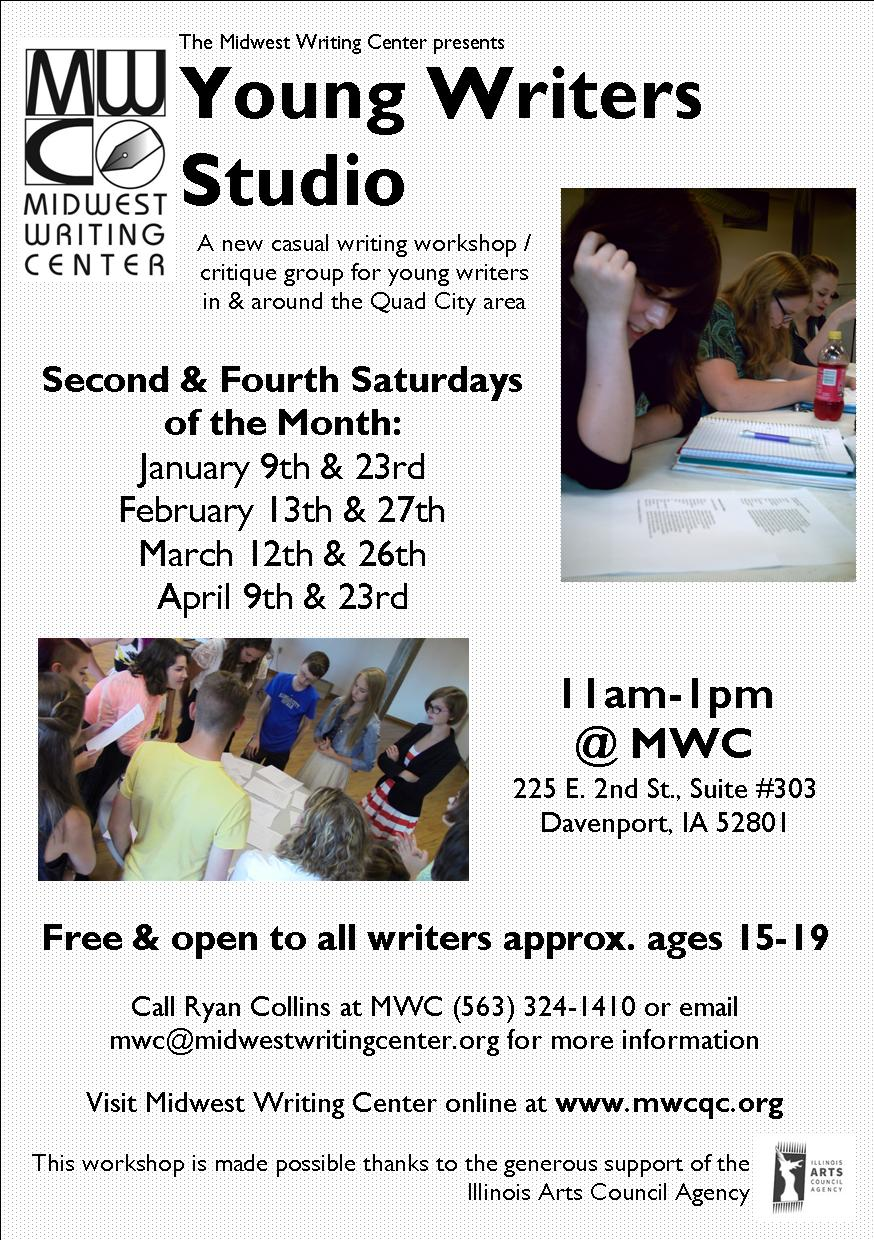 Young Writers Studio _ Spring 2016 Flier _ Jan-Apr