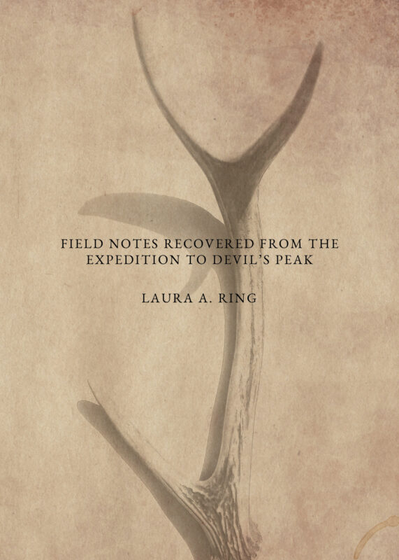 Field Notes Recovered from the Expedition to Devil's Peak by Laura A. Ring (Foster-Stahl Chapbook Series Selection) – Pre-Order Today